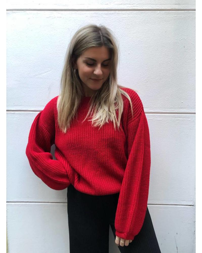 24 Colours Wide Sleeves Knit