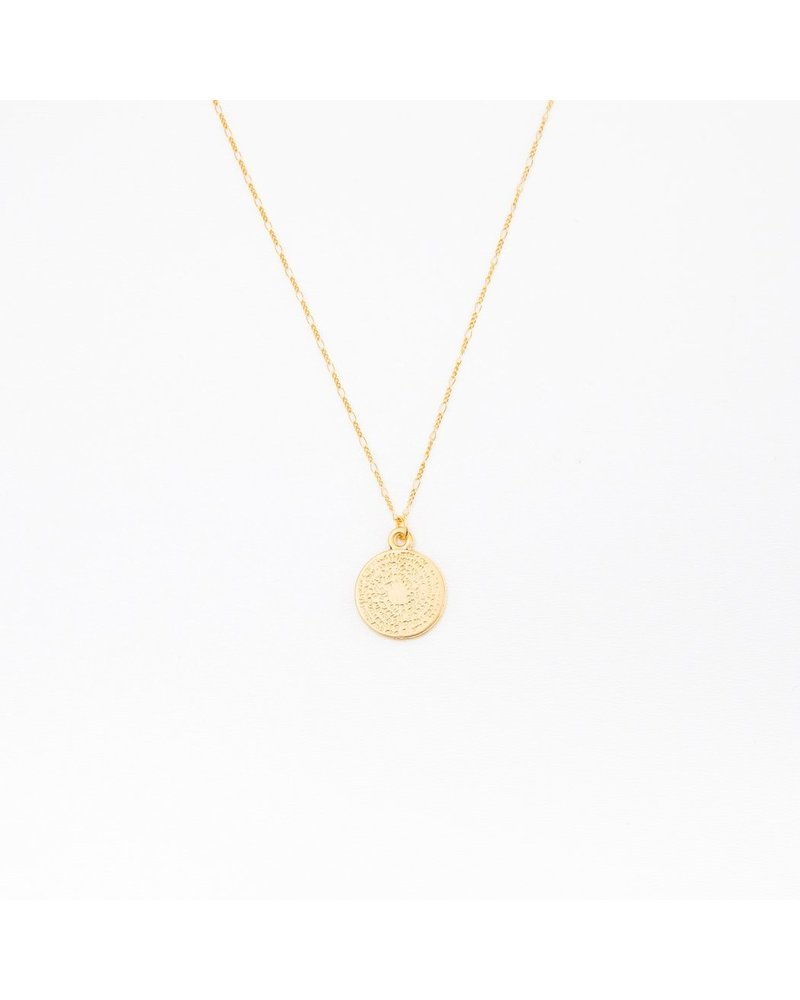 indi and me Indi and Me coin necklace