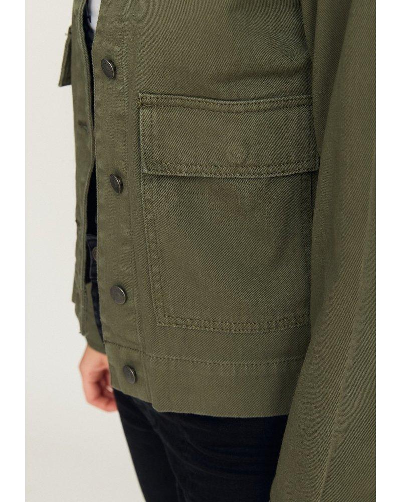Rut & Circle Lona Cargo Jacket