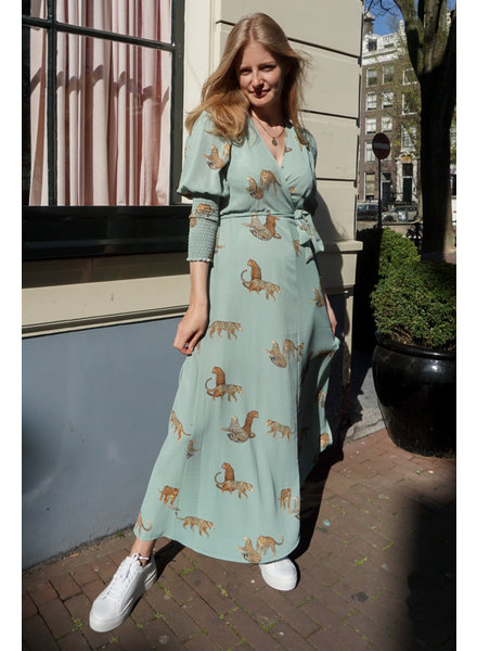 Muze Amsterdam Leopard Dress
