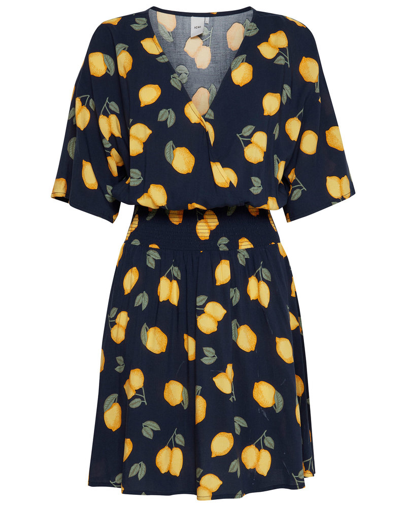 Ichi ICHI Lemon Dress