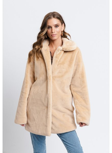 Rut & Circle Tanja Faux Fur Coat