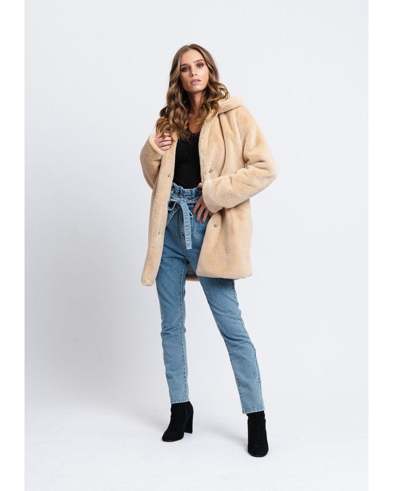 Rut & Circle Rut & Circle Tanja Faux Fur Coat