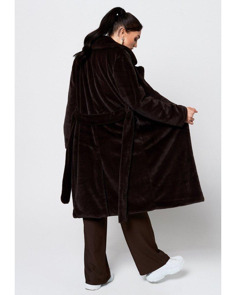 Rut & Circle Sofia Faux Fur Coat