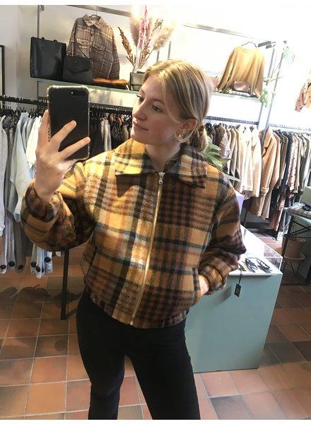 24 colours Check Jacket