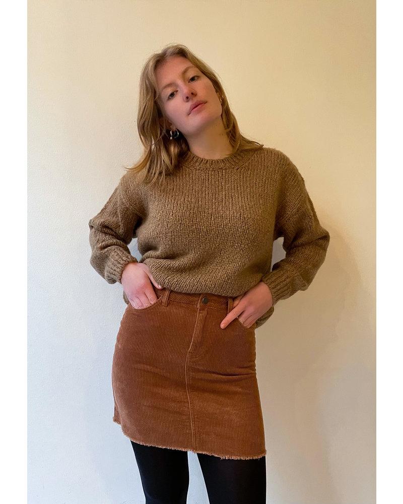 24 colours 24 Colours Corduroy Skirt