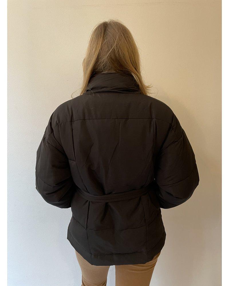24 colours 24 Colours Puffy Jacket Black