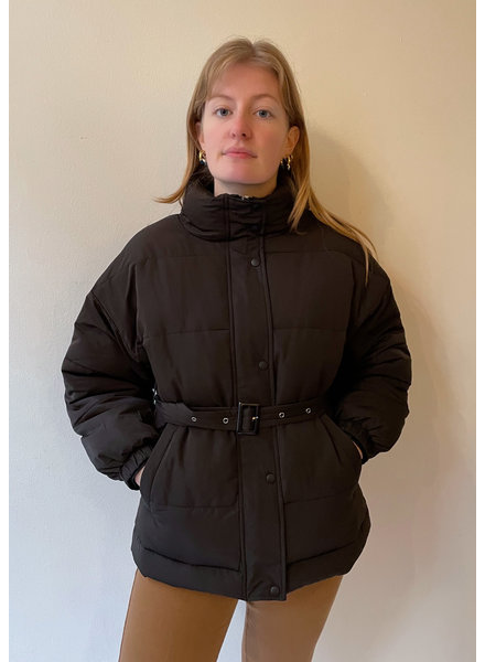 24 colours Puffy Jacket Black