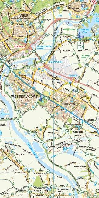VVV Recreatiekaart Regio Arnhem-Nijmegen, picture 129761981