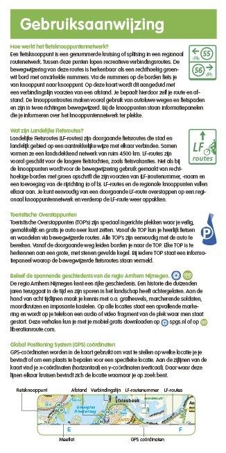 VVV Recreatiekaart Regio Arnhem-Nijmegen, picture 129761987