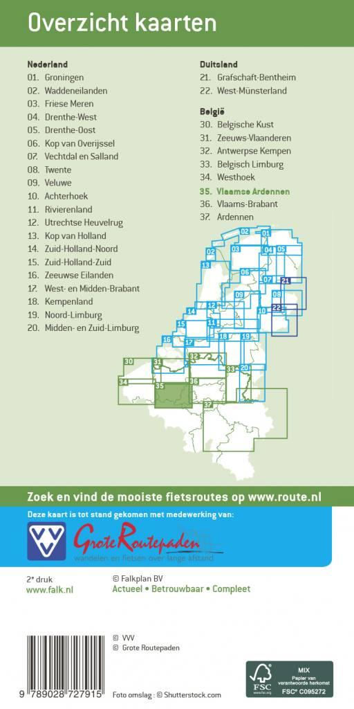 Falk Fietskaart 35. Vlaamse Ardennen, picture 149461106