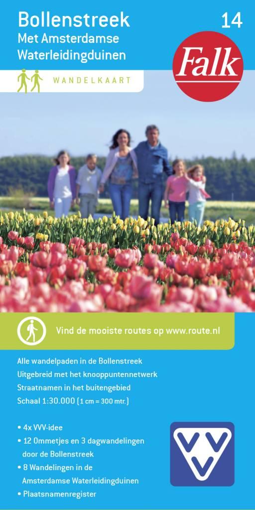 Falk VVV Wandelkaart 14 Bollenstreek met Amsterdamse Waterleidingduinen, picture 157344950