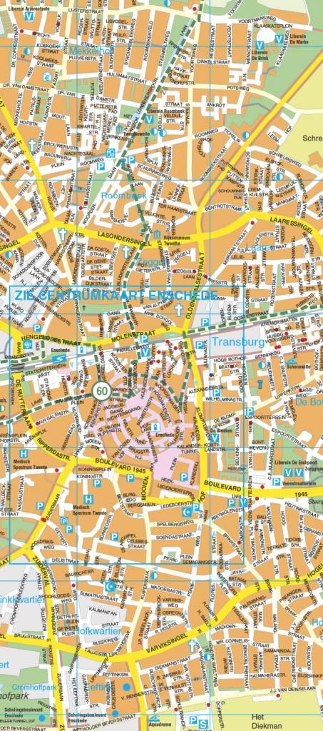 Falk Stadsplattegrond & Fietskaart Enschede, picture 157347896
