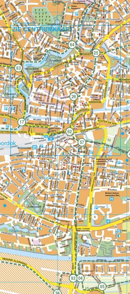 Falk Stadsplattegrond & Fietskaart Leeuwarden, picture 164990633