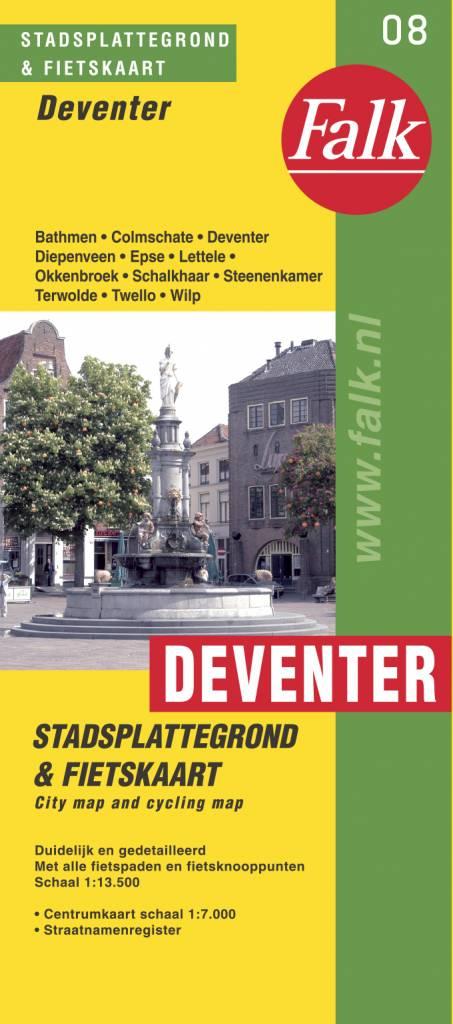 Falk Stadsplattegrond & Fietskaart Deventer, picture 165001385