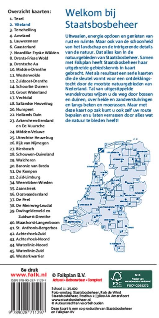 Staatsbosbeheer Wandelkaart 2 Vlieland, picture 165219065