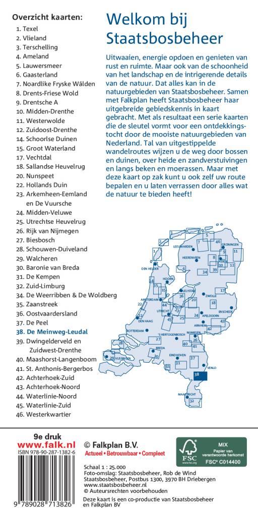 Staatsbosbeheer Wandelkaart 38 Meinweg-Leudal, picture 165261146