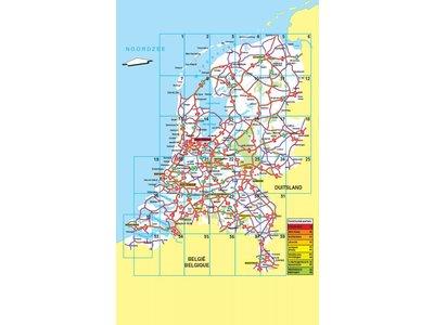 Falk Routiq autokaart Nederland Maxi Tab Map, picture 165400535