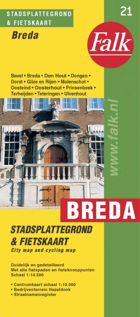 Falk Stadsplattegrond & Fietskaart Breda, picture 186579479