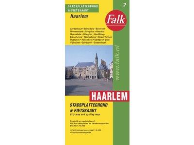 Falk Stadsplattegrond & fietskaart Haarlem, picture 187960781