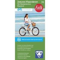 Falk Fietskaart 31. Zeeuws-Vlaanderen