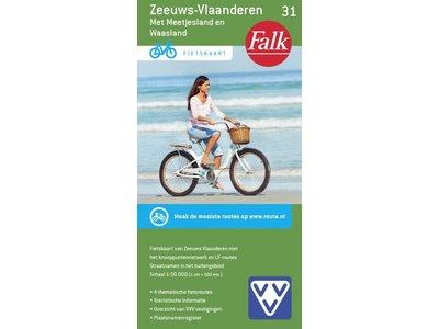 Falk Fietskaart 31. Zeeuws-Vlaanderen, picture 199706579