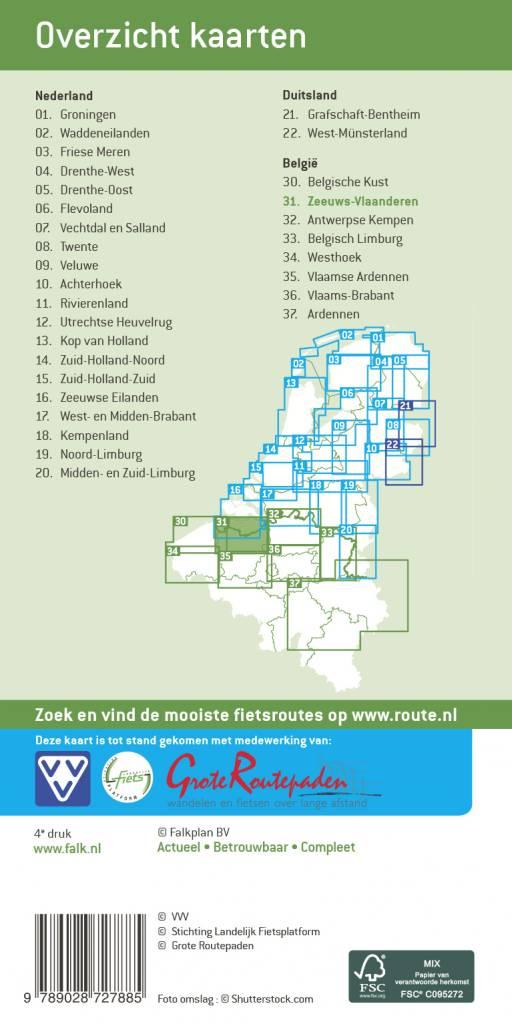 Falk Fietskaart 31. Zeeuws-Vlaanderen, picture 199706972