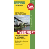 Falk Stadsplattegrond & fietskaart Amersfoort met Soest