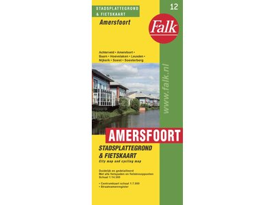 Falk Stadsplattegrond & fietskaart Amersfoort met Soest, picture 199713728