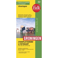 Falk Stadsplattegrond & Fietskaart Groningen