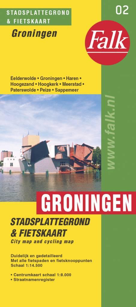 Falk Stadsplattegrond & Fietskaart Groningen, picture 199714337