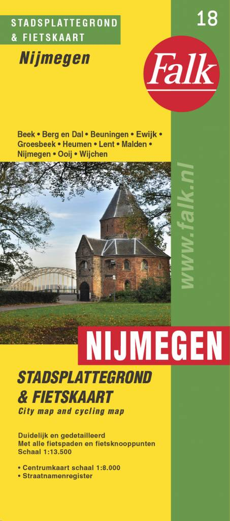 Falk Stadsplattegrond & Fietskaart Nijmegen, picture 199715918