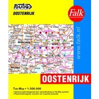 Falk Routiq Autokaart Oostenrijk tab-map