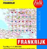 Falk Routiq autokaart Frankrijk Tab Map, picture 200542133