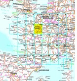 Falk Routiq autokaart Frankrijk Tab Map, picture 200542379