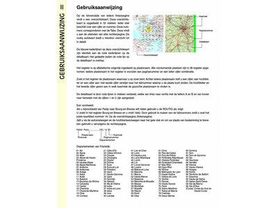 Falk Autokaart Frankrijk Routiq tab map, picture 200543168