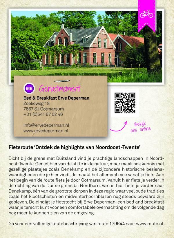 Falk Groots Genieten in Twente fietsen & wandelen vanuit Twentse horecalocaties, picture 203903432