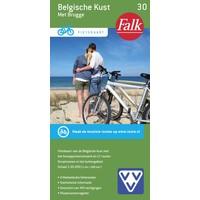 VVV Fietskaart 30. Belgische kust