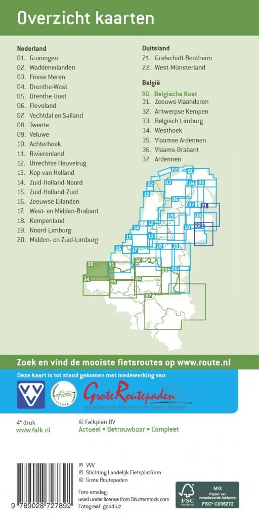 VVV Fietskaart 30. Belgische kust, picture 218770232