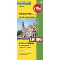 Falk Stadsplattegrond & fietskaart Leiden