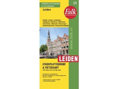 Falk Stadsplattegrond & fietskaart Leiden, picture 220271771