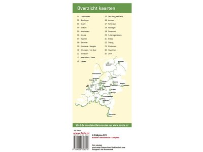 Falk Stadsplattegrond & fietskaart Leiden, picture 220271954