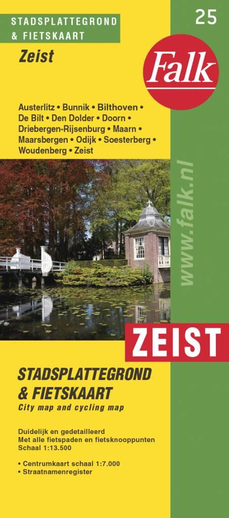Falk Stadsplattegrond & fietskaart Zeist, picture 220274201