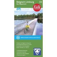 Falk Fietskaart 33. Belgisch Limburg