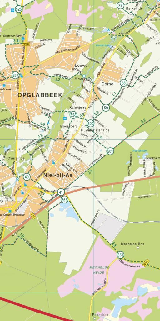 Falk Fietskaart 33. Belgisch Limburg, picture 220366238