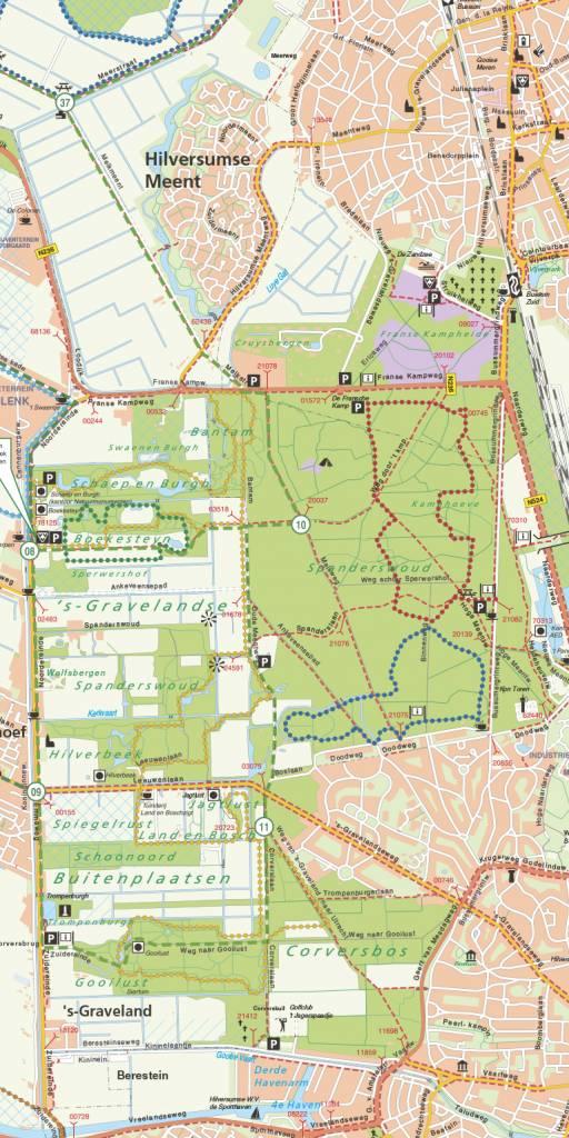 Natuurmonumenten Wandelkaart Natuurmonumenten 04. Gooi, Vechtstreek en Eemland, picture 231097538