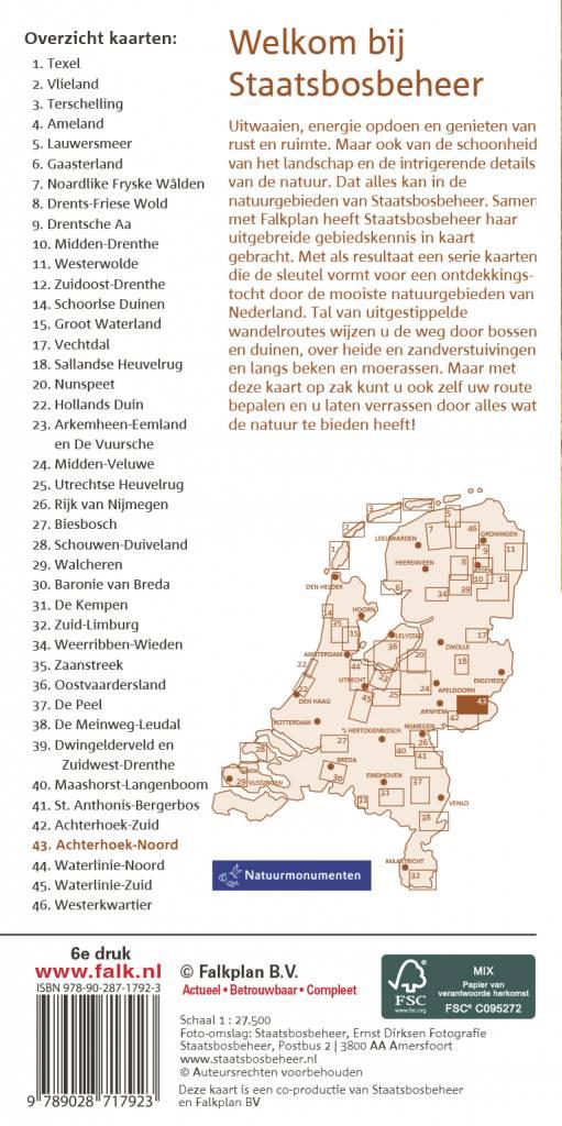 Staatsbosbeheer Wandelkaart 43 Achterhoek-Noord, picture 238409039