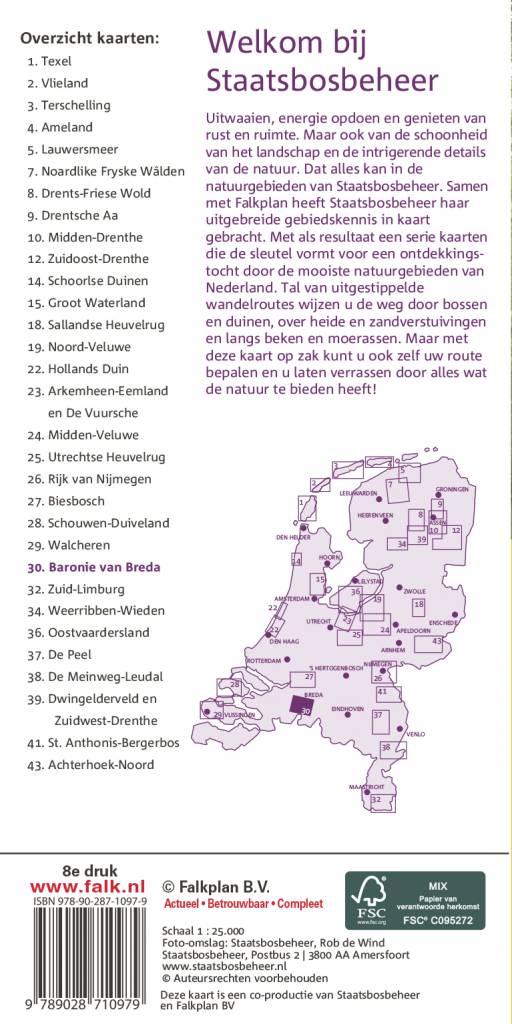 Staatsbosbeheer Wandelkaart 30 Baronie van Breda, picture 251337206