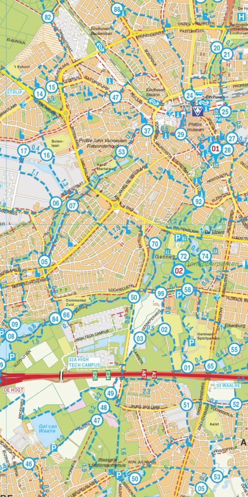 Falk Wandelkaart 01. De Brabantse Kempen met landgoed de Utrecht, picture 251337863