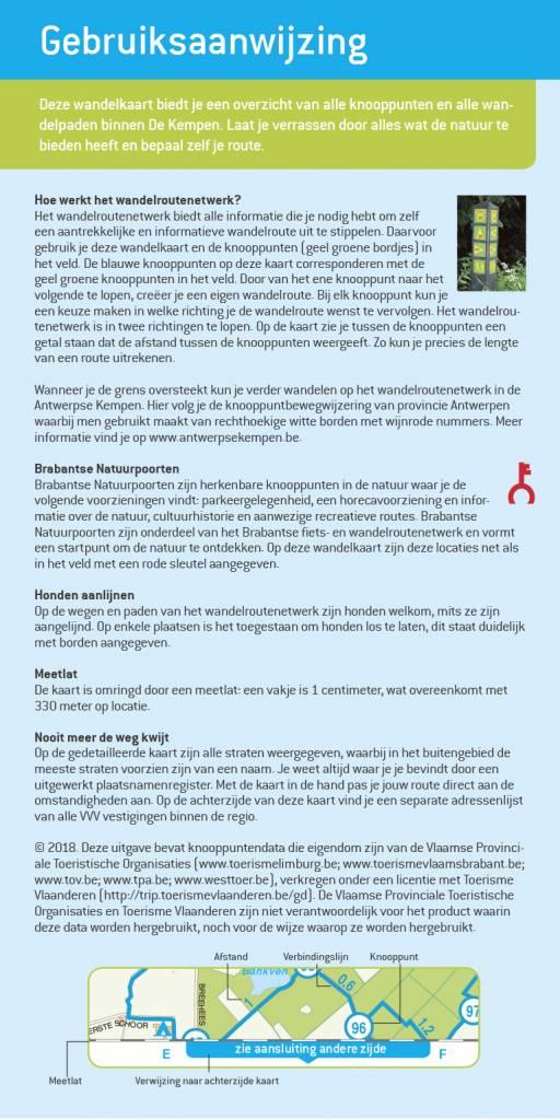 Falk VVV Wandelkaart 01 De Brabantse Kempen met landgoed de Utrecht, picture 251337947